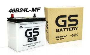 แบตเตอรี่ Gs 46B24L