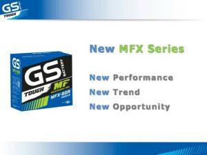 แบตเตอรี่ GS MFX