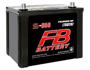 แบตเตอรี่ FB S850L